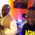 VIDEO: Akon – Frosh ft. D'Banj (Studio Session)