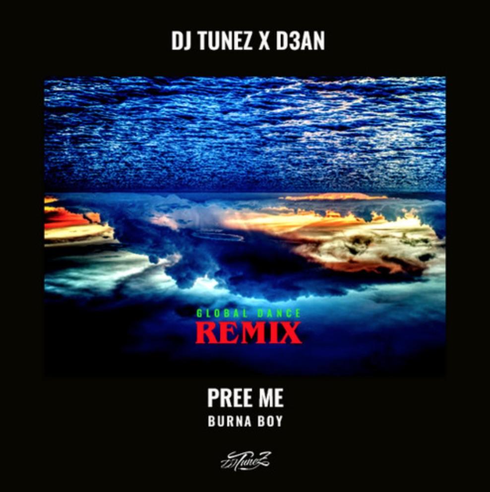 Burna Boy, DJ Tunez & D3AN - Pree Me (Remix)