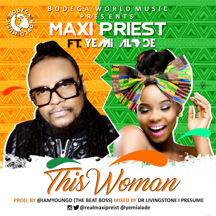 VIDEO: Maxi Priest ft. Yemi Alade – This Woman