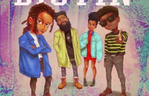 Sheldon – The Turn Up ft N.O.B. x MzVee x Kuami Eugene – Distin (Prod. by Vicci)