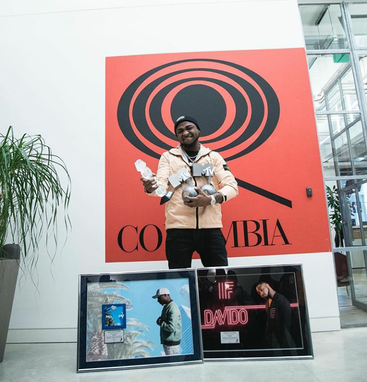 'IF' Is officially Diamond and 'FALL' is officially Platinum in sales!!! – Davido