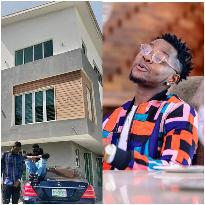 Kiss Daniel Rewards Himself With A New House