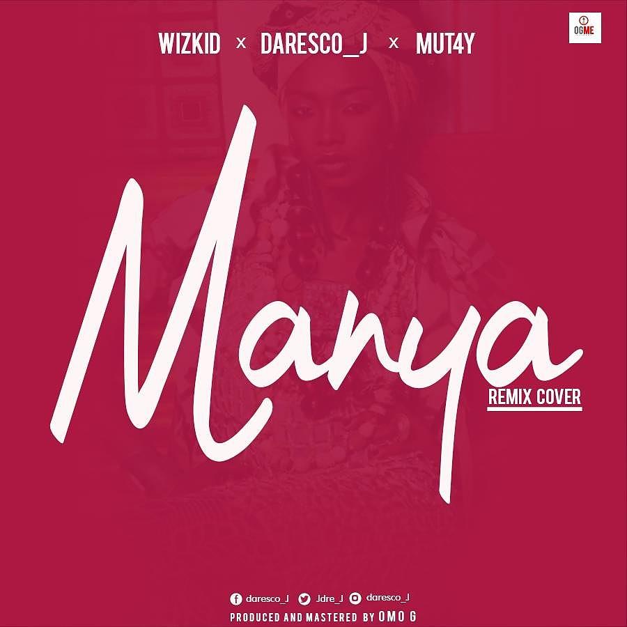 Daresco J - Manya (Cover)