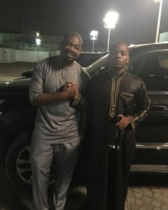 2Baba Refers To Olamide As His Most Memorable Headies Moment (Watch Video)
