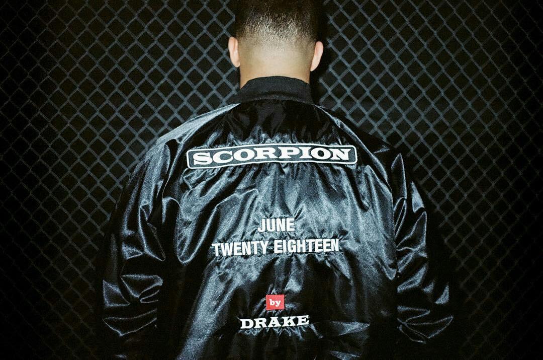 Drake announces new album (Scorpion)