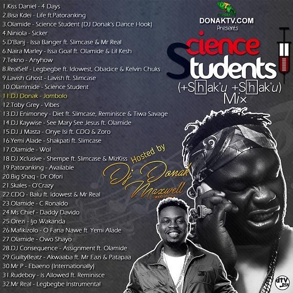 DJ Donak – Science Students (Shaku Shaku) Mix