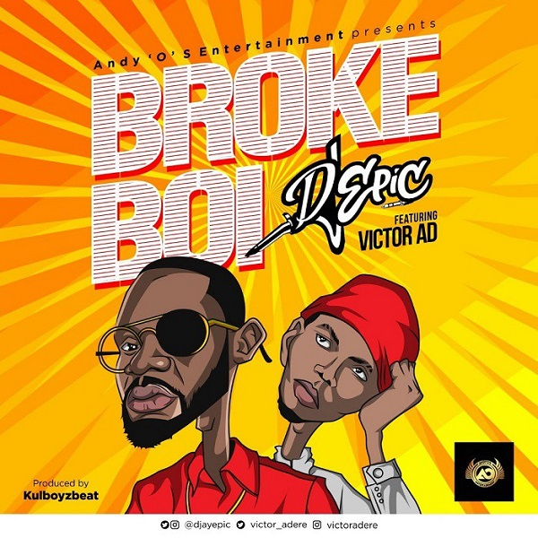 DJ Epic ft. Victor AD – Broke Boi artwork