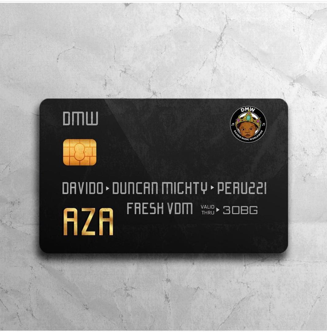 DMW ft. Davido, Duncan Mighty & Peruzzi – Aza artwork