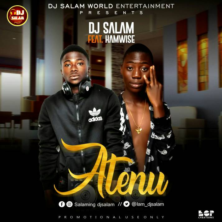 Dj Salam ft. Hamwise - Atenu artwork