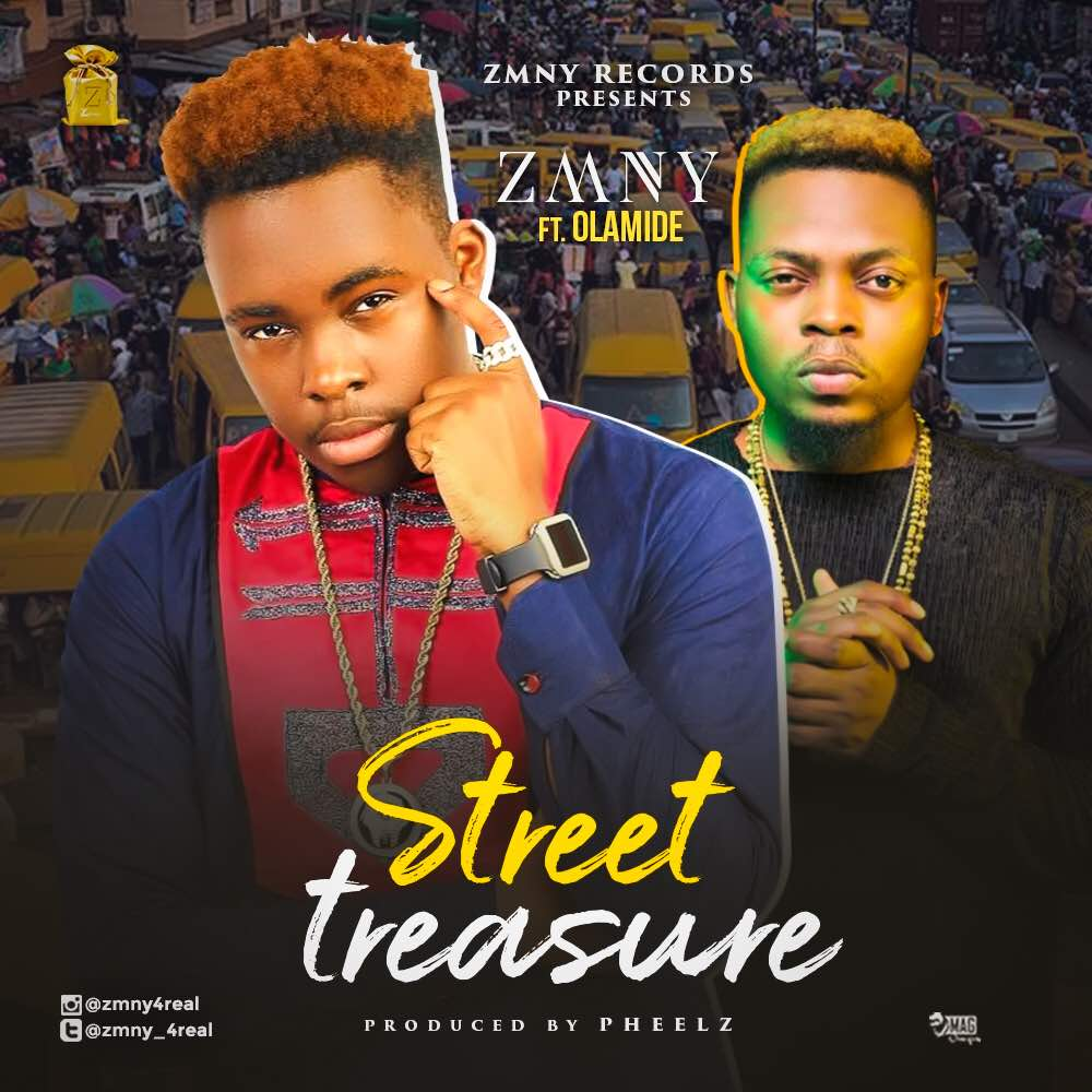 ZMNY ft. Olamide – Street Treasure artwork