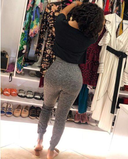 Toke Makinwa's Big Backside Now A Problem To Her