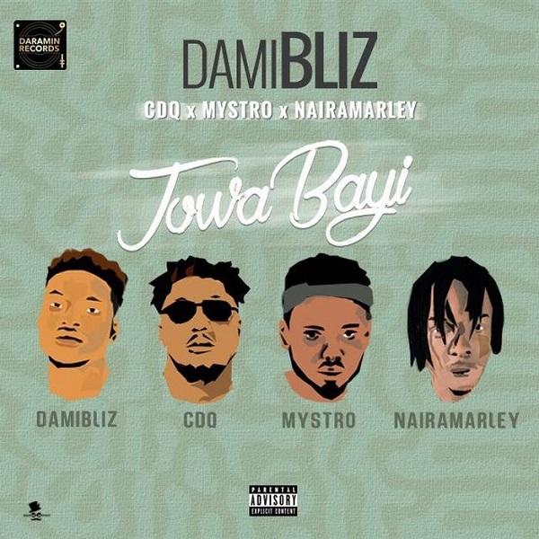 Damibliz ft. CDQ, Mystro & Naira Marley – Jowa Bayi Artwork