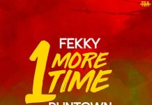 Fekky ft. Runtown – One More Time Artwork