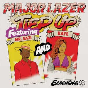 [Video] Major Lazer ft. Mr Eazi, Raye & Jake Gosling – Tied Up Artwork