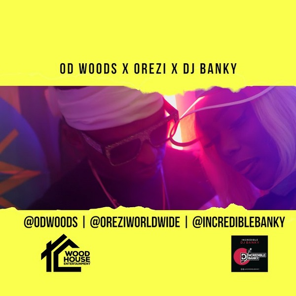 OD Woods ft. Orezi & DJ Banky – Vibe (Remix) Artwork