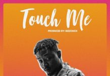 Shaydee – Touch Me Artwork