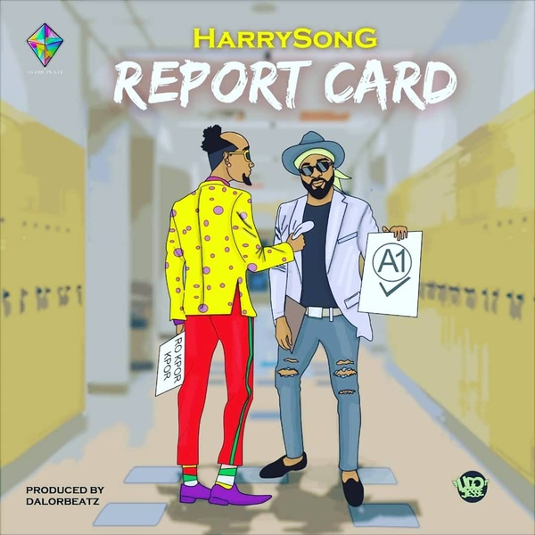 HarrySong – Report Card Artwork