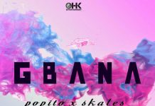 Popito ft. Skales – Gbana Artwork