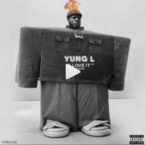 Yung L – I Love It (Kanye West Cover) Artwork