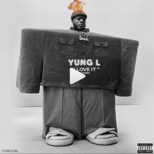 Yung L – I Love It (Kanye West Cover) Artwork