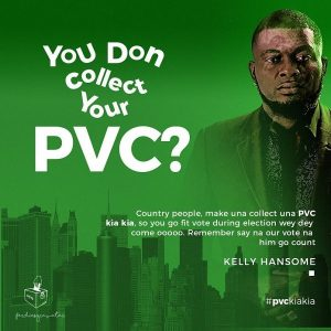 Kelly Hansome – Your Vote