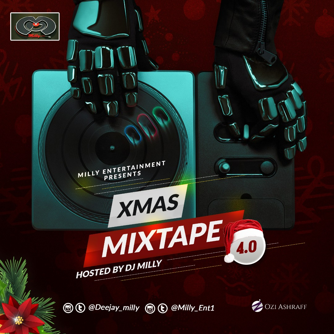 DJ Milly – Xmas Mixtape Vol. 4.0