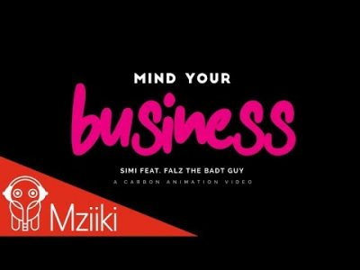 [Animated Video] Simi ft. Falz – Mind Your Bizness
