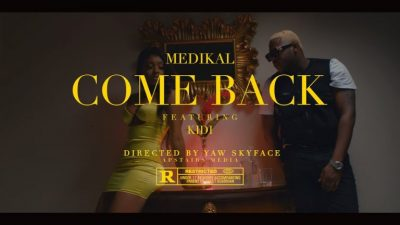 [Video] Medikal ft. KiDi – Come Back