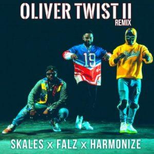 Skales ft. Falz & Harmonize – Oliver Twist (Remix)