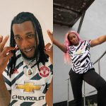 Burna Boy, DJ Cuppy unveils Manchester United's third kit